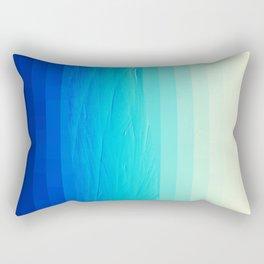 Blue Buffer Rectangular Pillow