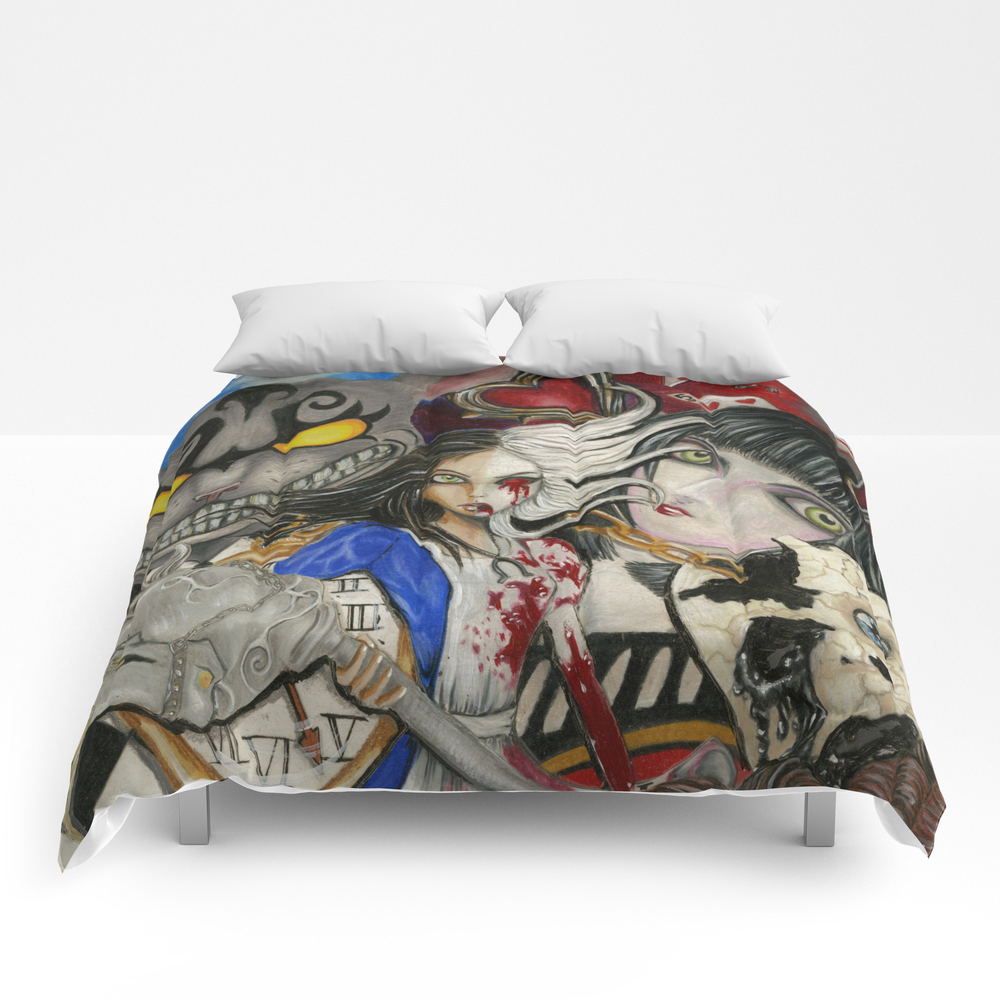 Alice The Madness Returns Comforter by Dreadful_artist CMF8478106