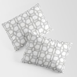 Poplar wood fibre walls electron microscopy pattern Pillow Sham