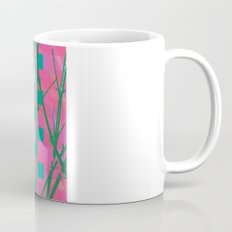 flower and cat Mug