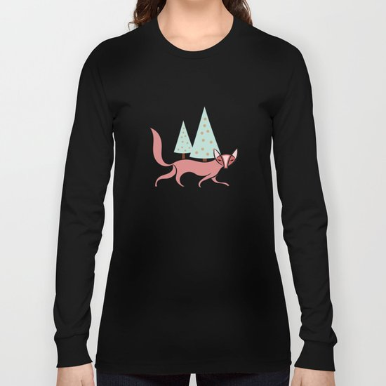 Fox #society6 #decor #buyart Long Sleeve T-shirt