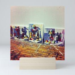 Wooden Bouquet Mini Art Print