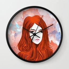 Emotion Girls Wall Clock