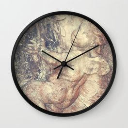 Right Hand Cherub Wall Clock