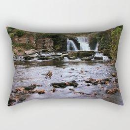 Penllergare Autumn Fall Scene Rectangular Pillow