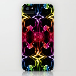 Smoke Chains 3 iPhone Case