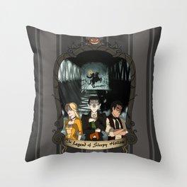 Poster: The Legend of Sleepy Hollow Throw Pillow