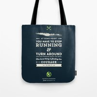 katniss Tote Bags featuring Katniss Everdeen  by thatfandomshop