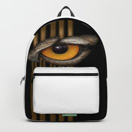 Looking Out by JC LOGAN 4 SimplyBlessed Backpack