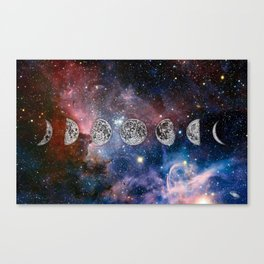 Cosmic Celestial Cycle Canvas Print