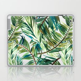 Leaf the jungle watercolor pattern Laptop & iPad Skin