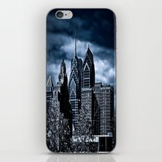 the dark city iPhone & iPod Skin