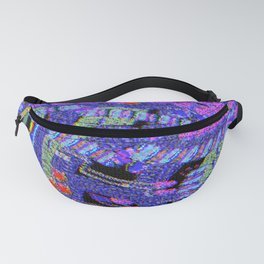 Ocean of Glitchness  Fanny Pack