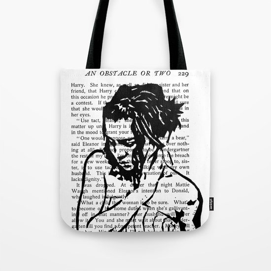 An Obstacle or Two Tote Bag