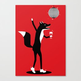 Fancy Fox Canvas Print