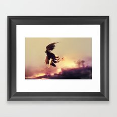 The Prey Framed Art Print