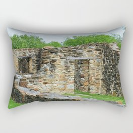 At the Mission I Rectangular Pillow
