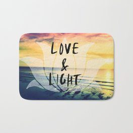 Uluwatu Bali surf breaks sunset Bath Mat