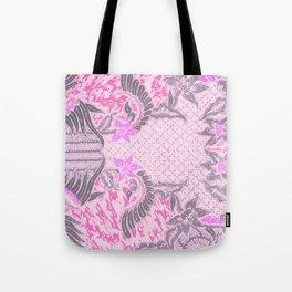 Bali Batik pink Tote Bag