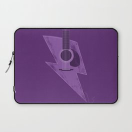 Electric - Acoustic Lightning Laptop Sleeve
