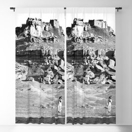 Hopi Indian village of Mishongnovi. 1901 Blackout Curtain