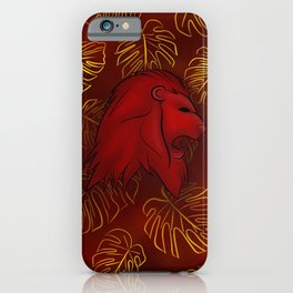 Griffindor, Bravery and Courage iPhone Case