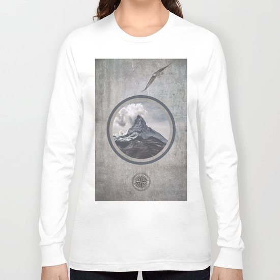 Where eagles fly Long Sleeve T-shirt