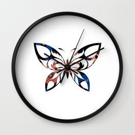 Butterfly 391 Wall Clock