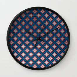 Pattern in Grandma Style #57 Wall Clock