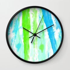 Fresh Paint Wall Clock