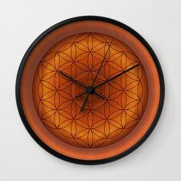 Mandala Flower of Life 1 Wall Clock
