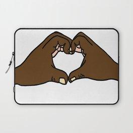 Heart Hands Laptop Sleeve
