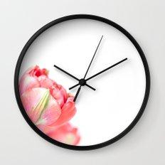 Peony Tulip... (2) Wall Clock