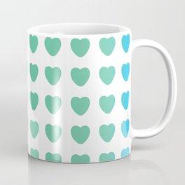 Fall in Love with Yourself hearts Coffee Mug