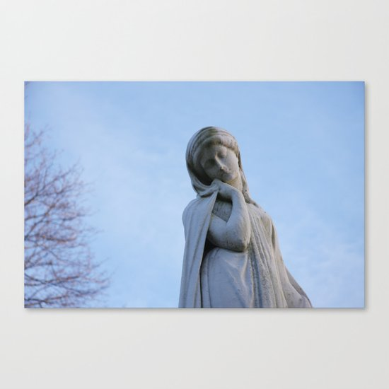 I Want To Be A Mysterious Woman Canvas Print