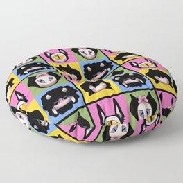 Happy Tile Floor Pillow