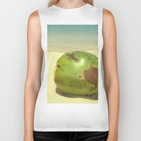 coconut wishes Biker Tanks featuring Coconut by Michael S.