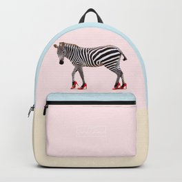 HIGH HEEL ZEBRA Backpack