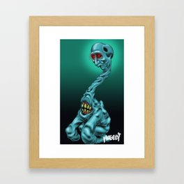 Keep your head up! Framed Art Print