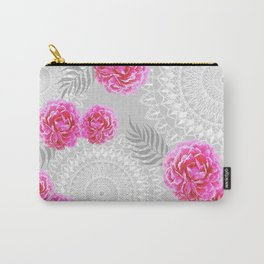 Mandalas and peonies n.1 Carry-All Pouch