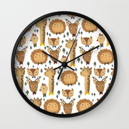 Forest Formal Wall Clock