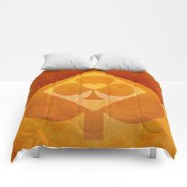 Full of Aces (Orange Version) Comforters