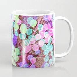 Dots & Leaves. Coffee Mug