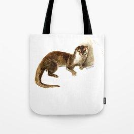 Totem otter: Amblonyx cinerea Tote Bag