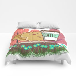 The Quest For A Perfect Cup Of Coffee Comforters