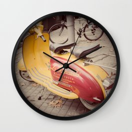 Back to the Sixties Wall Clock