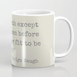 Evelyn Waugh on Youth Coffee Mug