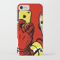 sansa stark iPhone & iPod Cases featuring Stark #Selfie by Butcher Billy