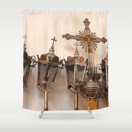 Religious artifacts Shower Curtain
