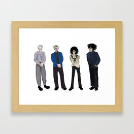 Siouxsie and the Banshees Framed Art Print